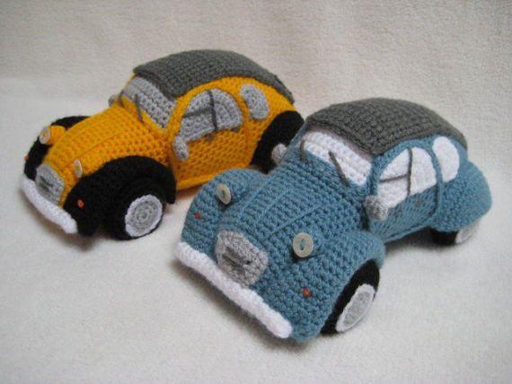 Happy Car Amigurumi Crochet Pattern | 428x570