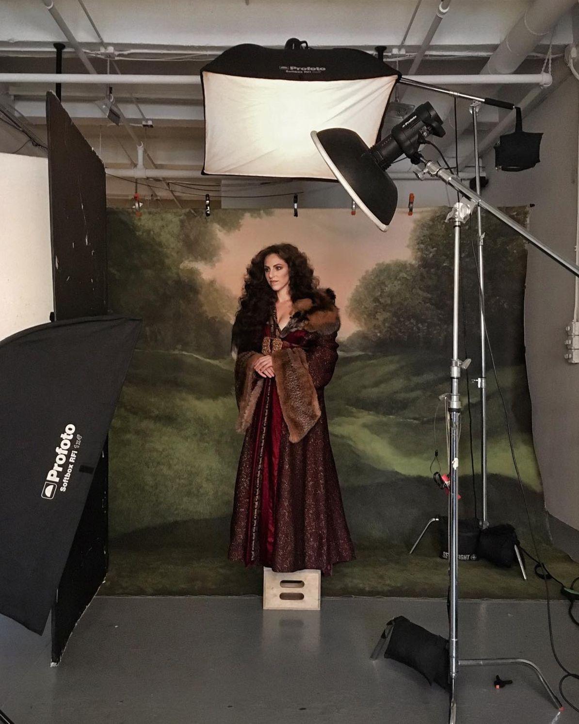 Behind The Scenes Portrait Of Lindsay Adler By Chris Knight Lighting Diagram Profoto Setup Photography