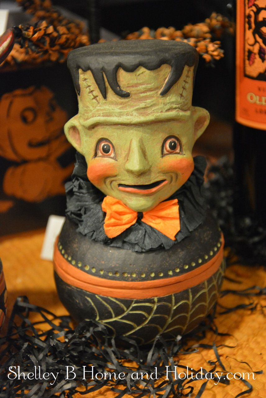 johanna parker frankie halloween candy container. its a bowl with a