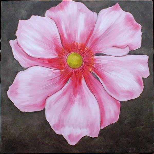 Paintings contemporary art abstract art for Simple watercolor paintings of flowers