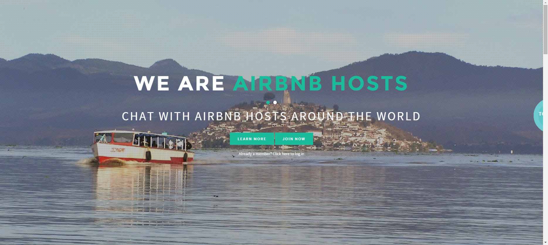 Travelers Chat- Chat with AirBnB hosts around the world