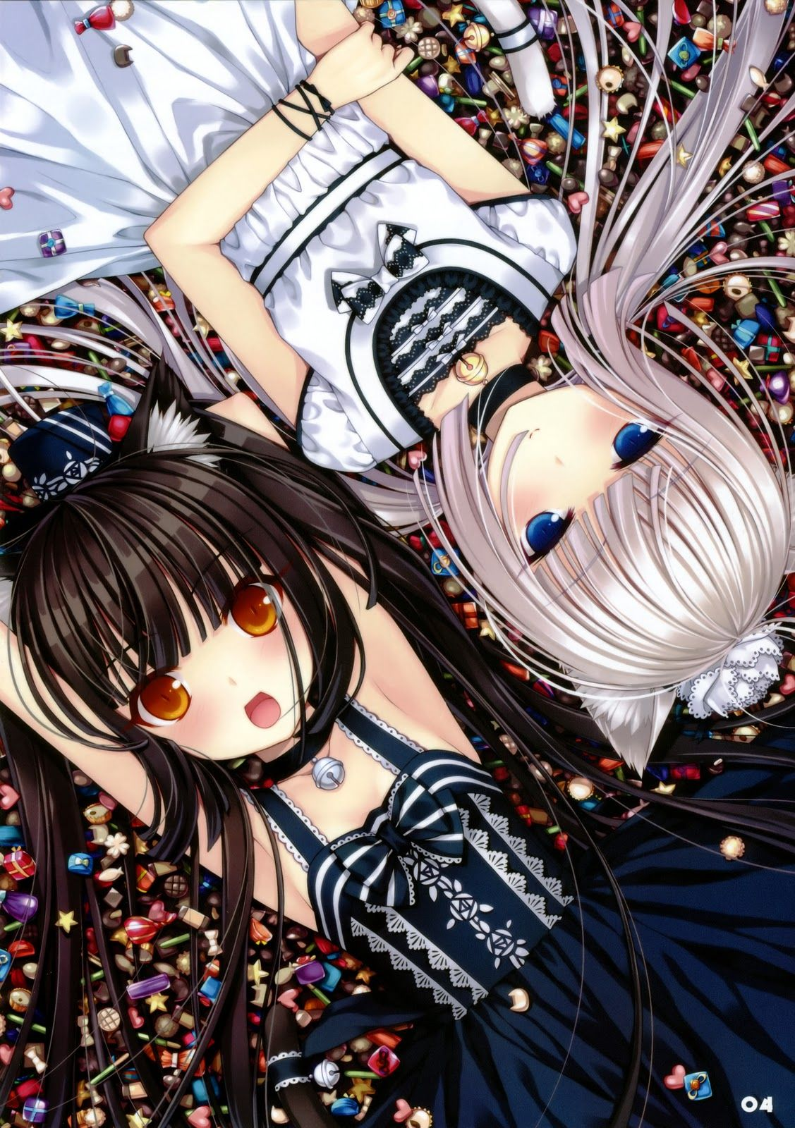 chocolate and vanilla neko anime | una vez por casualidad ...