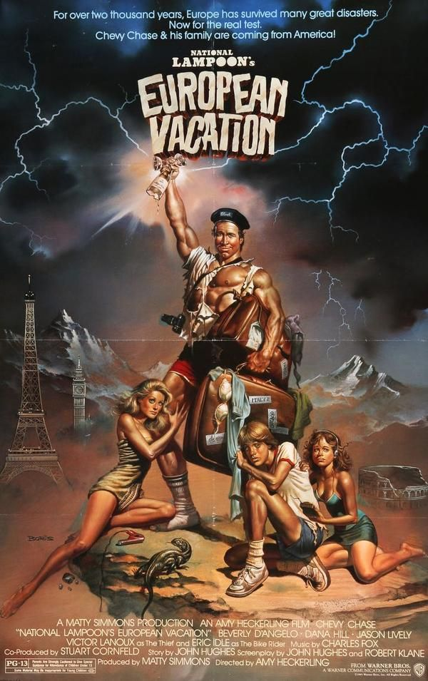 National Lampoon S European Vacation 1985 In 2020 Vacation
