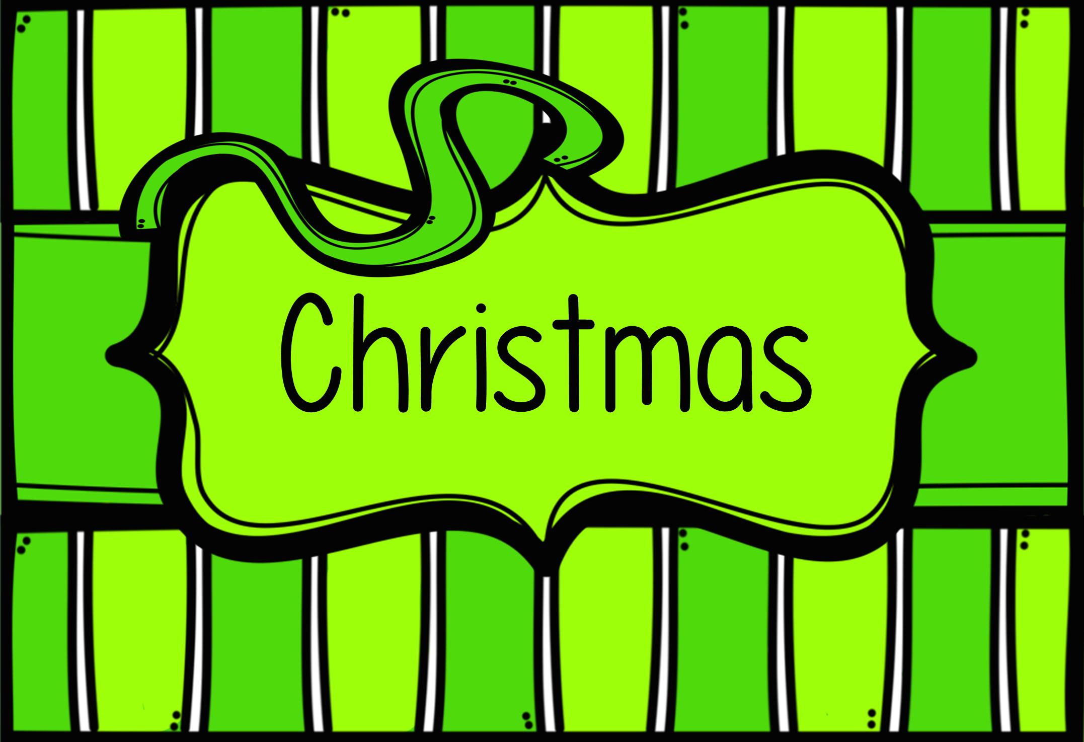 Visit http://www.teacherspayteachers.com/Store/Jen-Rece for more Christmas teaching ideas & downloads!