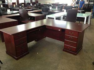 Presidential Executive L Shape Desk