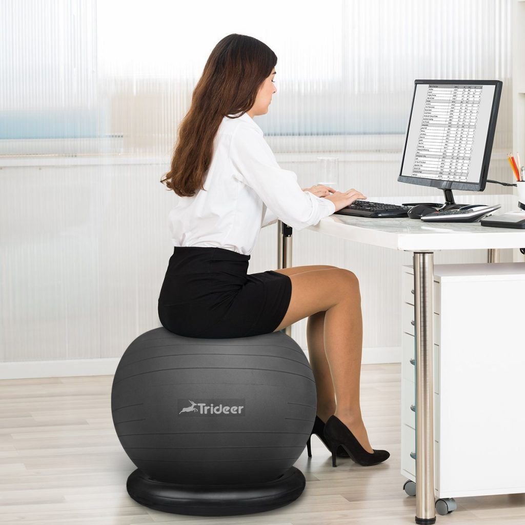 Astounding Top 10 Best Yoga Ball Chairs In 2018 Reviews Buying Machost Co Dining Chair Design Ideas Machostcouk