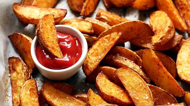 Knusprige Potato Wedges aus dem Ofen » Taste of Travel