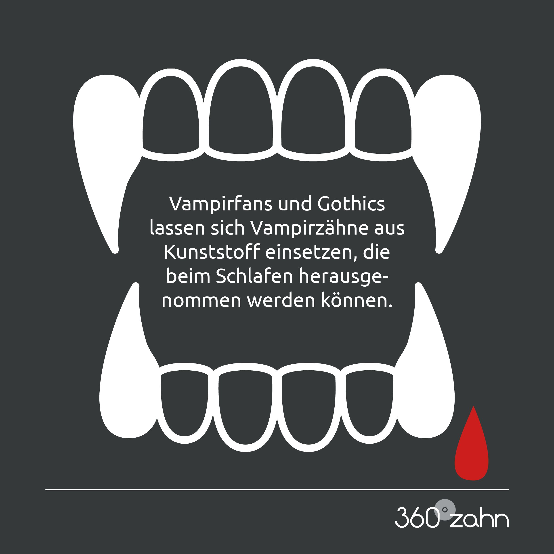 Echte Vampirzahne Zahnarzt Zahne Kieferorthopadie