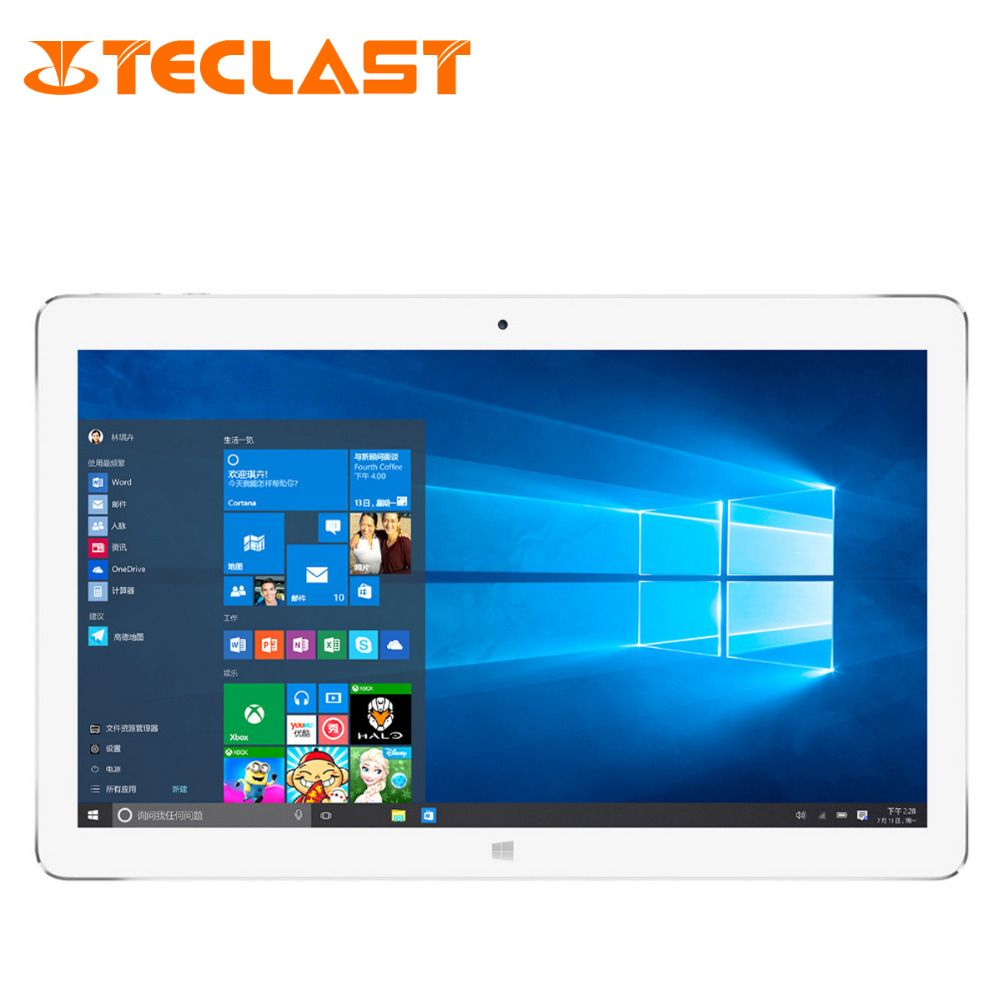 19866 25595 Teclast Tbook16 Pro 2 In 1 Ultrabook 116 1920 Acer Tablet B1 723 Iconia Talk 7 19201080 Ips Screen Intel X5 Z8300 Dual Os Windows 10 Android 51 4gb 64gb Pc