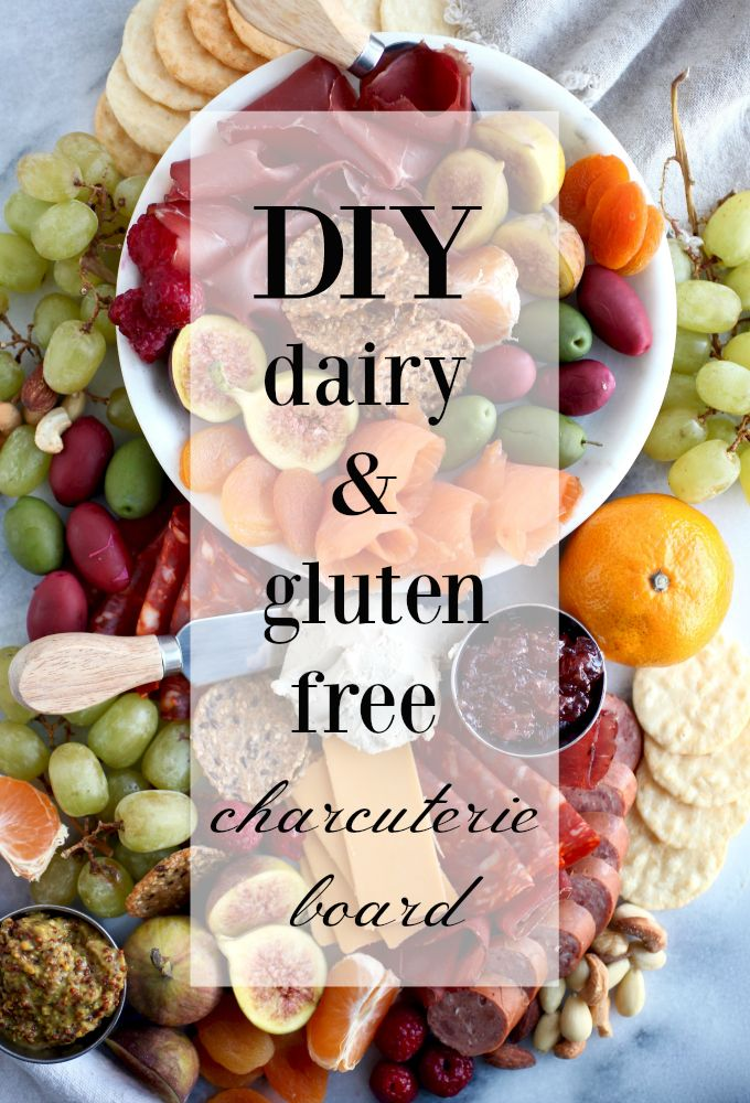 Diy Gluten Dairy Free Holiday Charcuterie Platter With Vegan