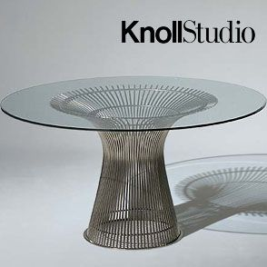 Good Platner Tables  Of All The Beautiful Things That Adorn The Knoll Showroom I  Work In