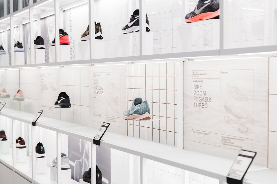 547b1100d5f80 Nike store in NYC opens with futuristic tech, huge collection - Business  Insider