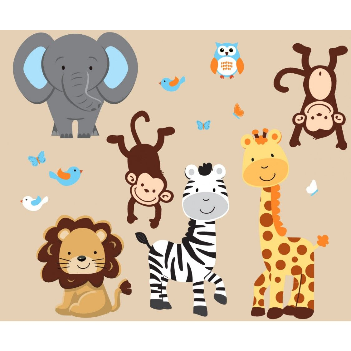 related keywords amp suggestions for jungle wallpaper nursery baby ...