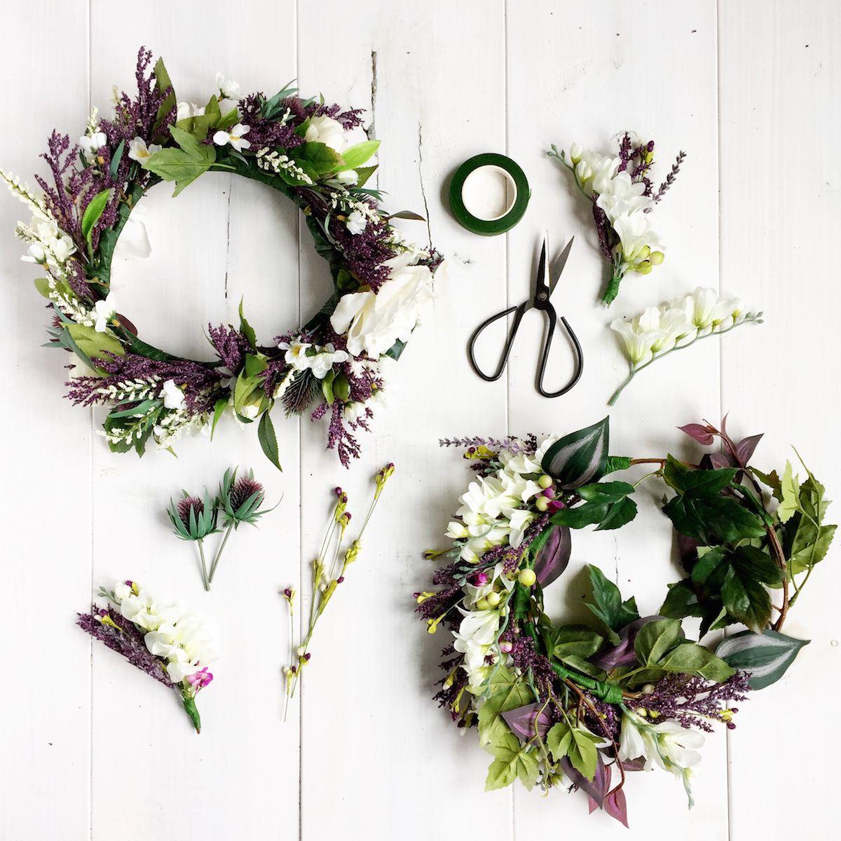 How To Celebrate Scandinavian Midsummer Flower Crowns Silk