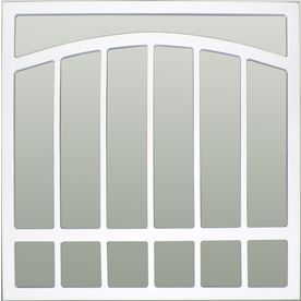 Window Security Bars Lowes >> Gatehouse 36 In X 48 In White Arched Window Security Bar