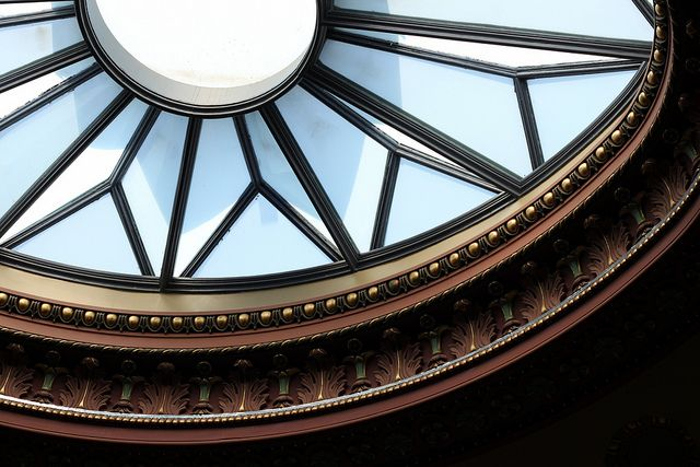 Dome in the Eisenhower Executive Office Building #WHPhotoWalk