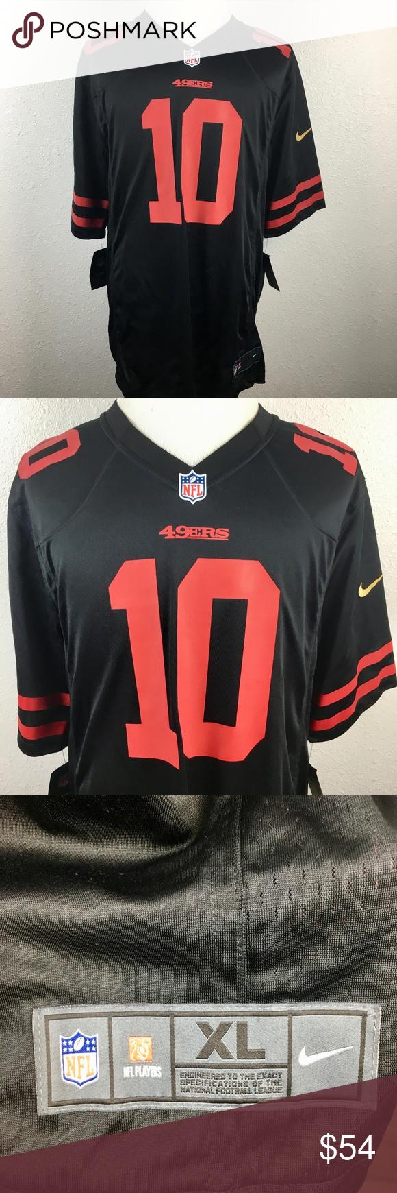 best loved 7d057 25672 Nike Jimmy Garoppolo San Francisco 49ers Jersey XL Nike Mens ...