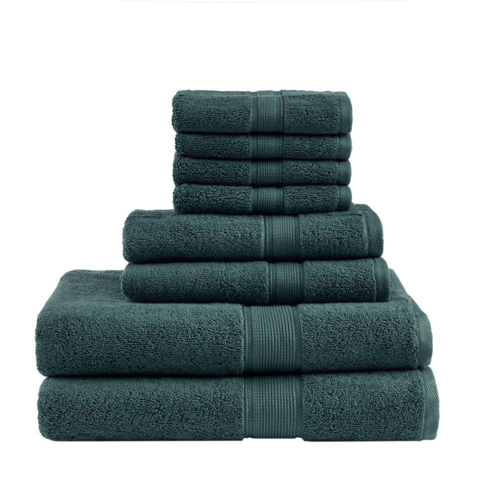 Bath Towel Set Dusty Green Towel Set Towel Cotton Bath Towels