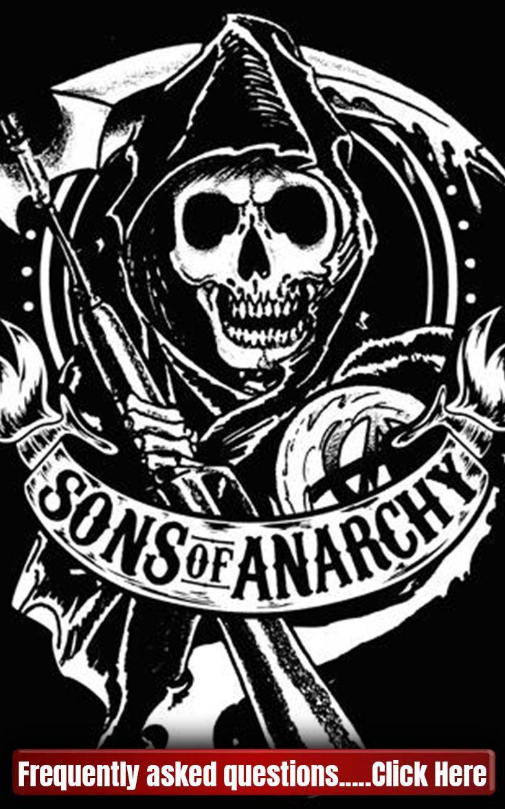 Sons Of Anarchy Logo Soa Sonsofanarchy Logo Tattooinfographic