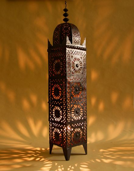 Wrought iron moroccan candle floor lamp morocco pinterest wrought iron moroccan candle floor lamp mozeypictures Choice Image