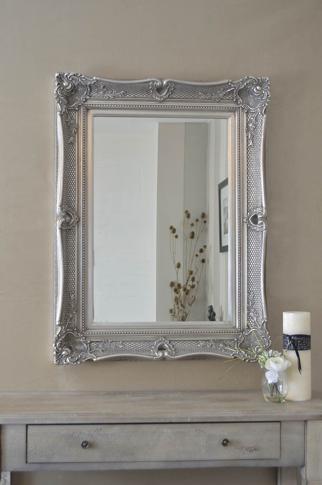 5 Quot Glamorous Ornate Style Wall Mirror This Particular