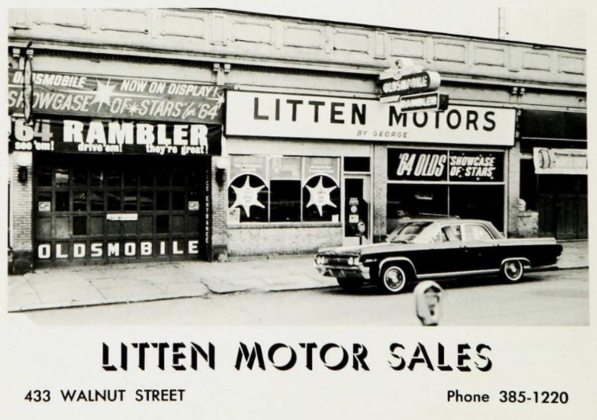 Automobilia frozen in time courtesy of your high school yearbook ...