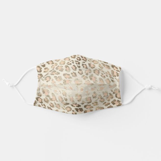 Cheetah Leopard Skin Print Fur Gold Safari Pattern