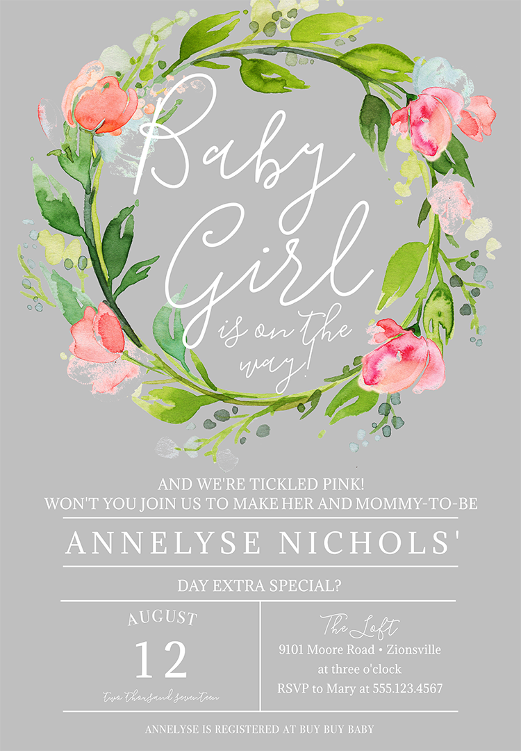 Baby Shower Invitation Wording to Welcome the Wee One Into the World
