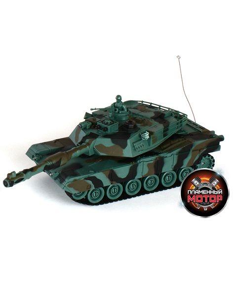 Пламенный мотор Abrams M1A2 р/у 1:28