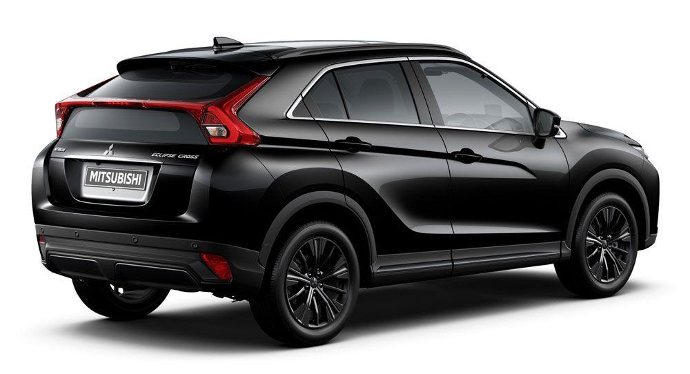 It S Black Edition Week For Mitsubishi Eclipse Cross Asx Outlander L200 Carscoops Mitsubishi Eclipse Mitsubishi Black Edition
