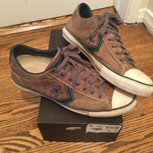 d543a65b9a0b80 Shop Men s Converse Brown size 11.5 Sneakers at a discounted price at  Poshmark. Description