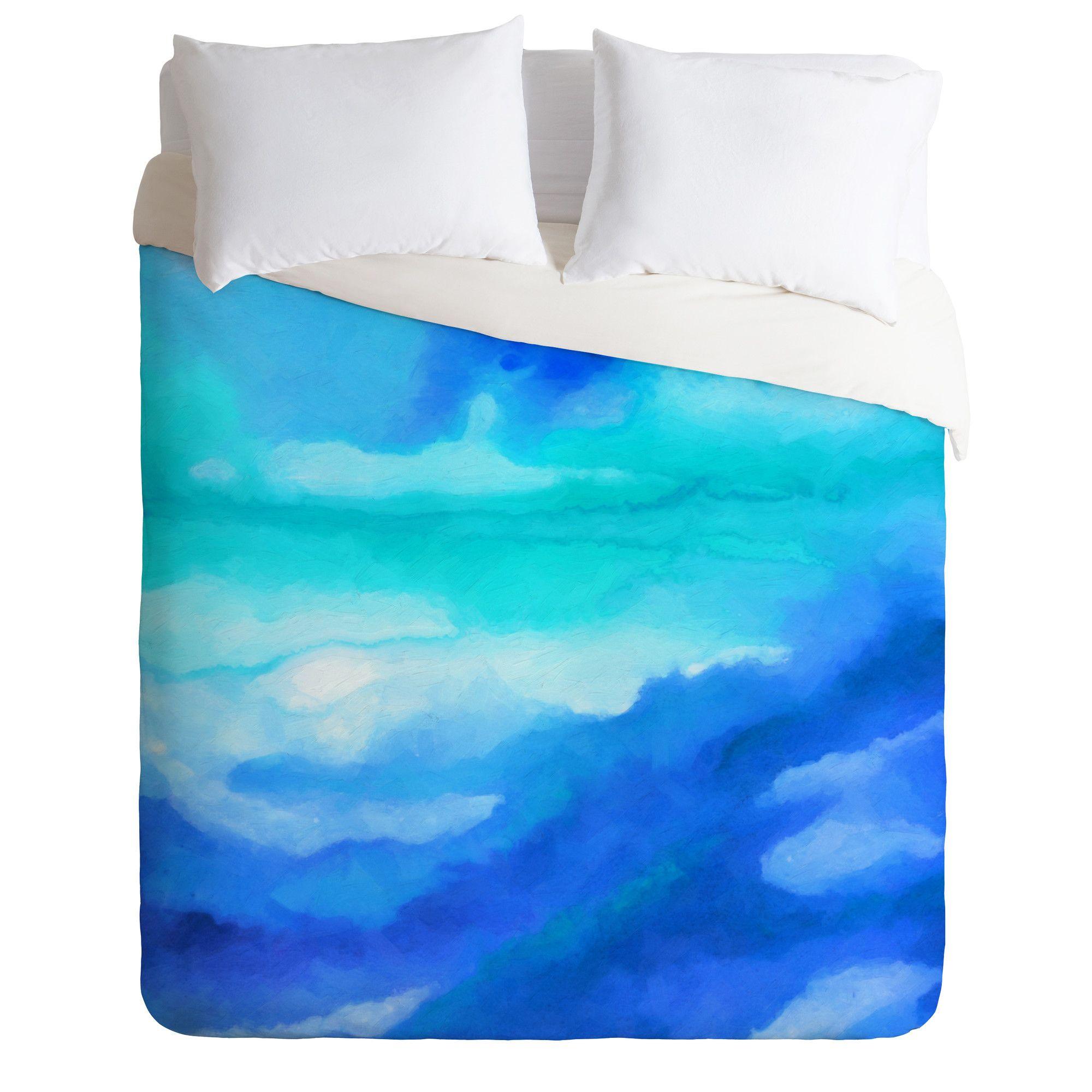 Watercolor bedding