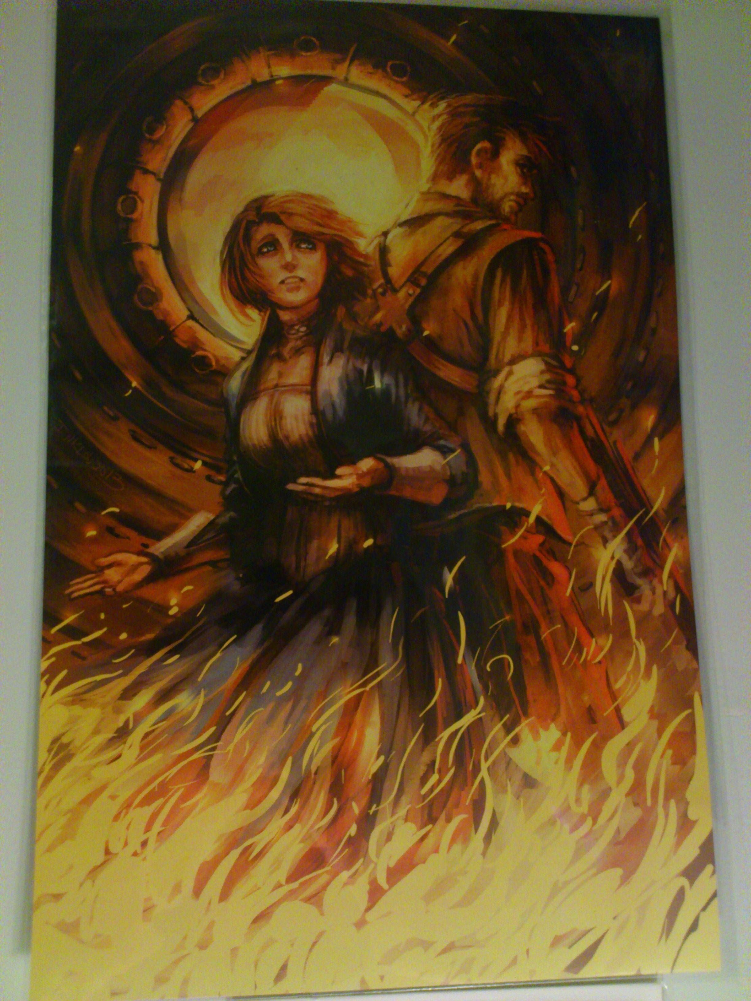 Bioshock infinite poster via reddit user ezzytiu video game art bioshock infinite poster via reddit user ezzytiu voltagebd Image collections