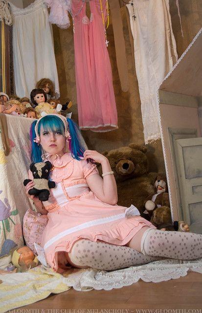 Pastel Lolita #dollvictoriandressstyles