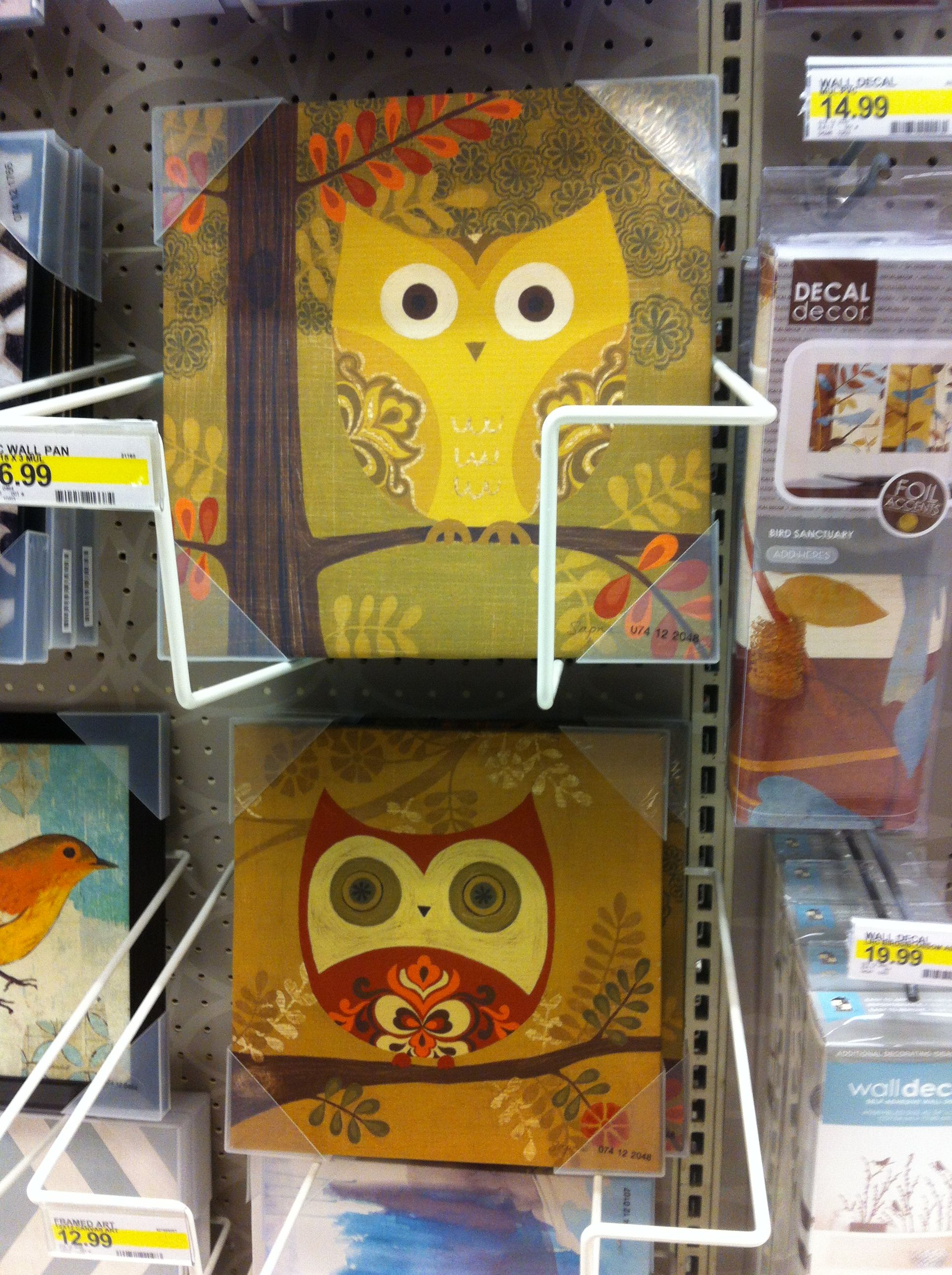 Canvas wall decor art by Sapna that can be found at Target stores ...
