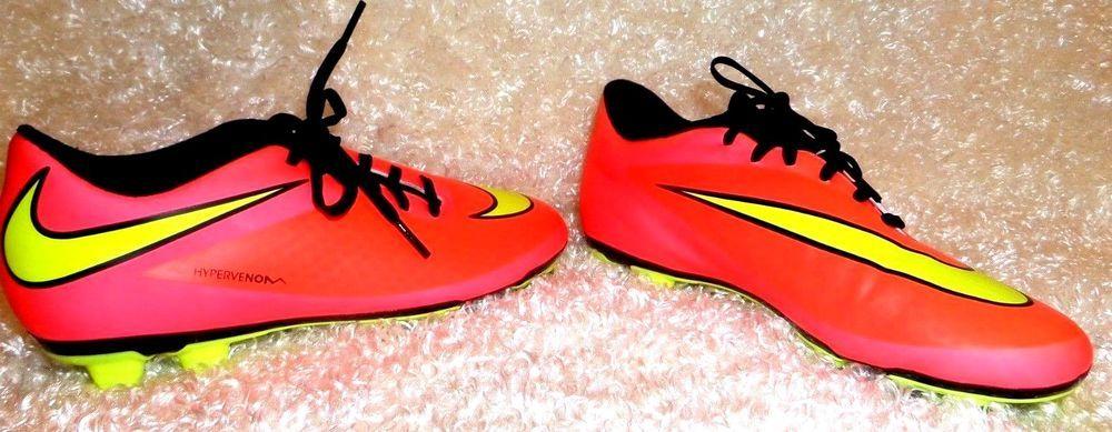 cb627e304 Nike-Hypervenom-Phade-FG-Mens-Soccer-Cleats 599809-690 Size 6.5 EUC  nike   SoccerCleats