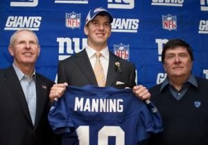 A few days after Ernie Accorsi secured the Giants' future by trading for Eli Manning, he was walking back from dinner to his apartment on the East Side of Manhattan. A well-dressed man came up from behind and began to verbally harass him for making the deal.