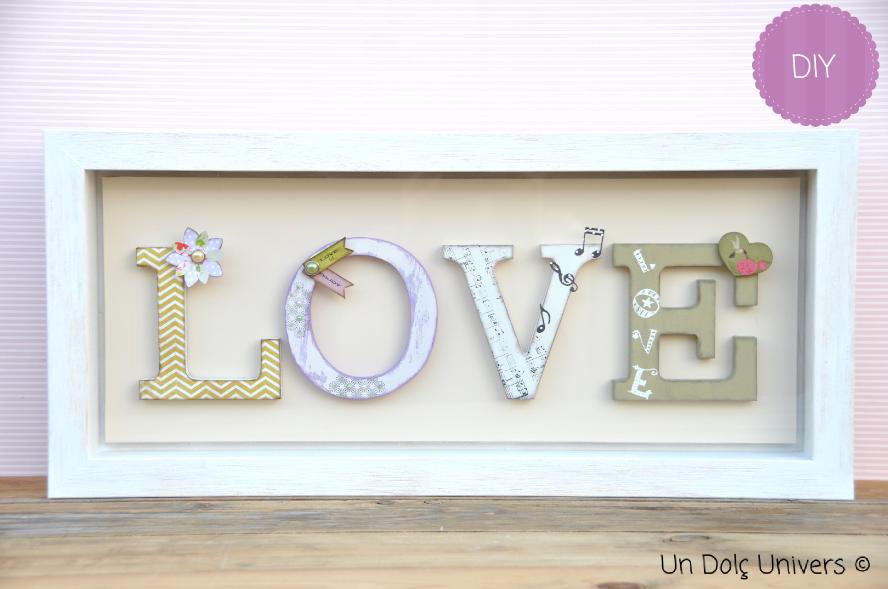 Letras de madera decoradas chalk paint pinterest - Letras de madera decoradas ...