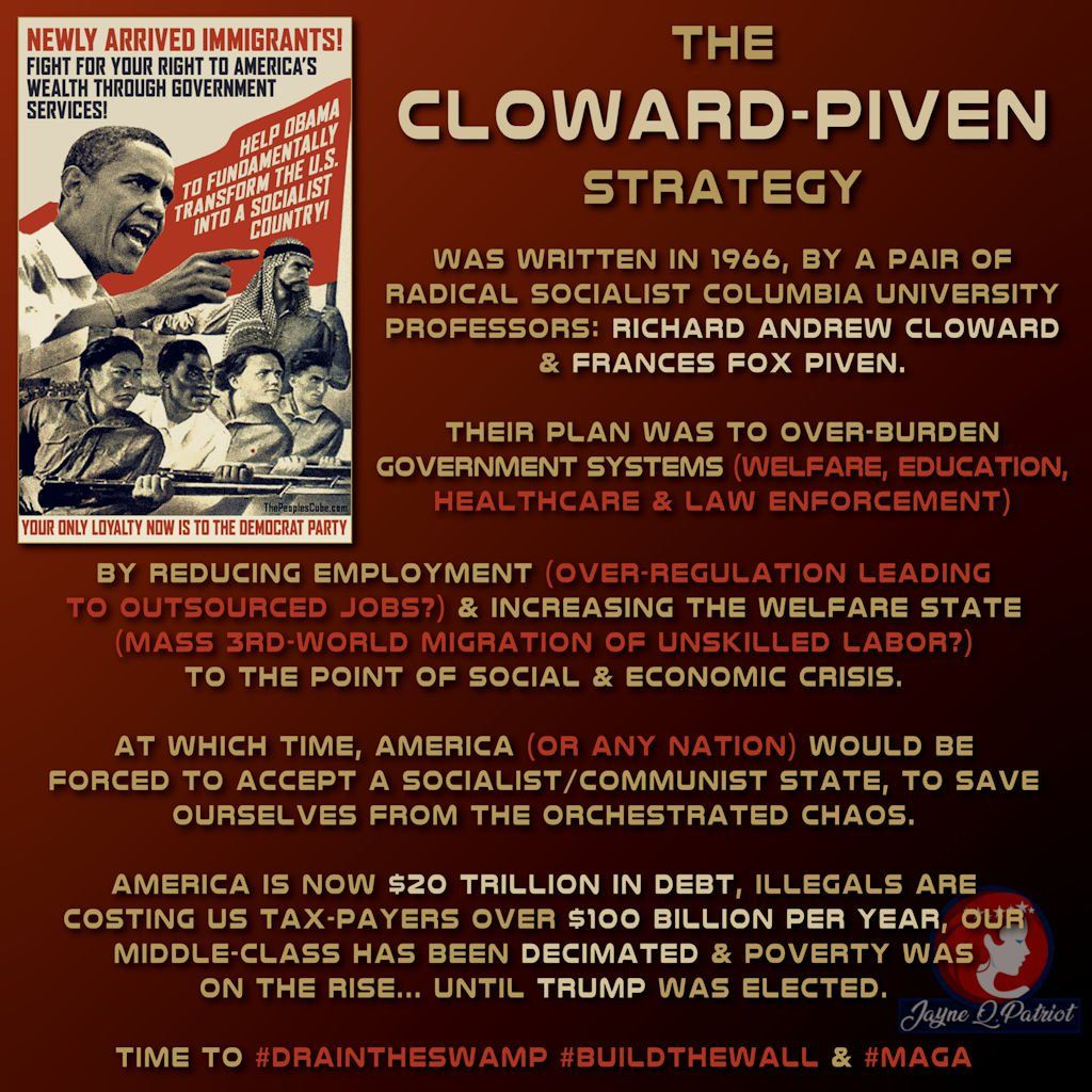 Cloward-Piven Strategy | Healthcare education, Government services ...