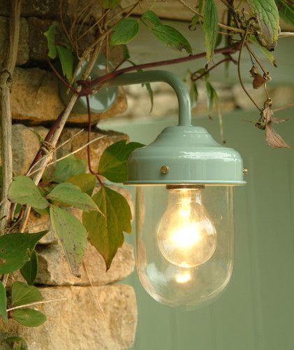 barn light in shutter blue by garden trading indoor or outdoor