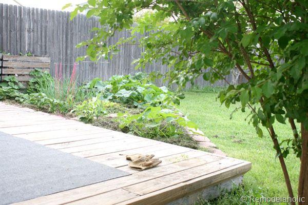 Triangle Garden Idea!