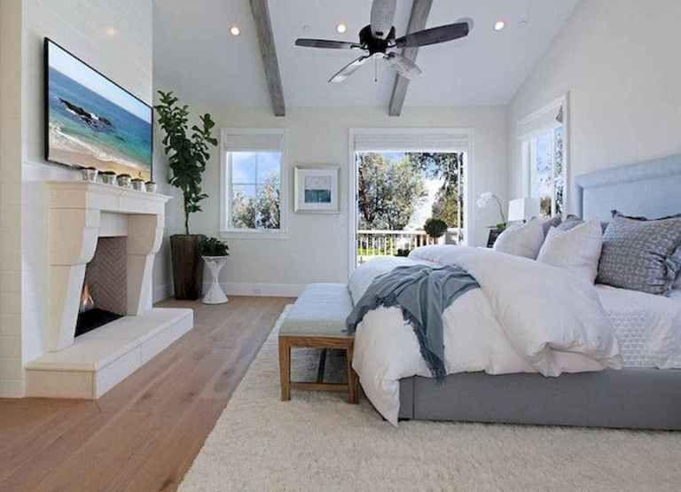 coastal farmhouse master bedroom