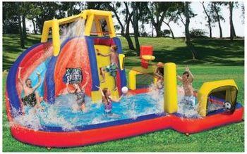 Bonzai Aqua Sports Water Park Catalog Spree Fingerhut Spring Catalog Part 1 Inflatable Water Park Big Water Slides Inflatable Water Slide