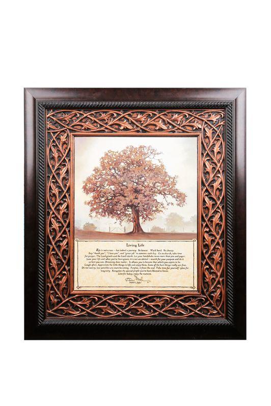 Living Tree Framed Art 28 X 32 Inches Mardel Framed Art Frame Live Tree