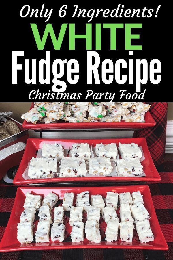 This Easy Recipe for Cranberry Pecan White Fudge is ...
