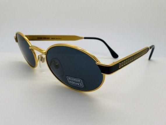 04e55eb92f Rare Vintage  Gianni Versace  Sunglasses - Mod S58 Col 16M Brand ...