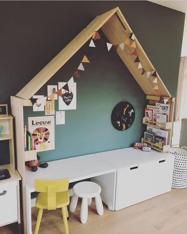 """Laura van der Haagen on Instagram: """"PLAYCORNER 1/3. Deze speelhoek hadden we al in onze oude huis staan nu weer een mooi plekje gegeven in ons nieuwe huisje!"""""""