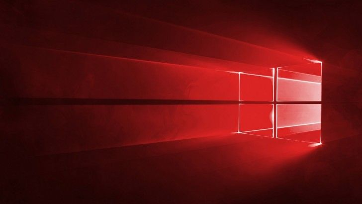 Download Windows 10 Wallpaper Red Theme 1920x1080 Windows