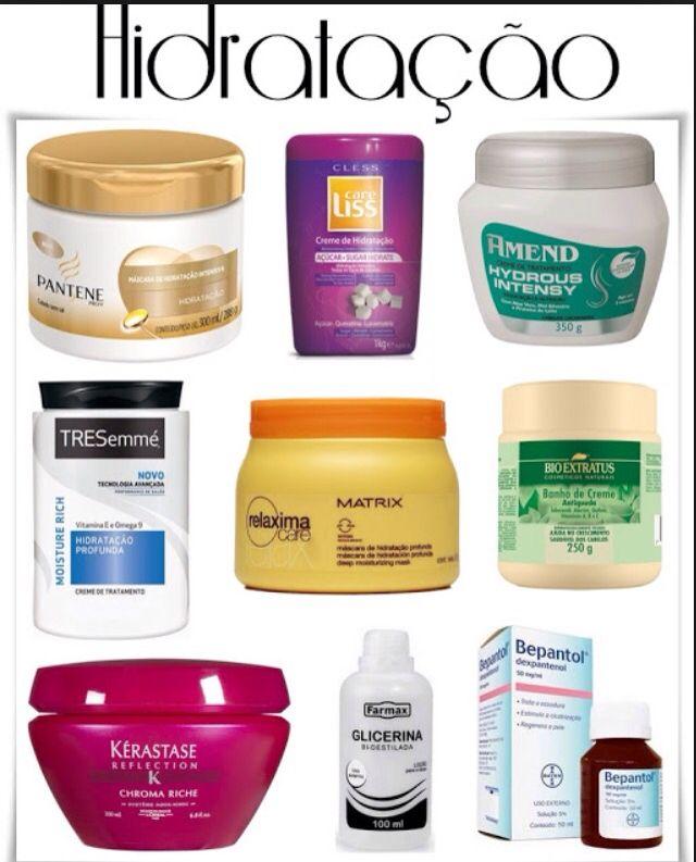 Ex De Produtos Para Hidratacao Cabelo Danificado Tratamento De