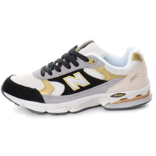 Discount New Balance WW880MY Black Gold Grey White Womens WMNS NB-880  Sneakers For Females